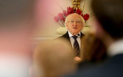 President of Ireland, Michael D Higgins