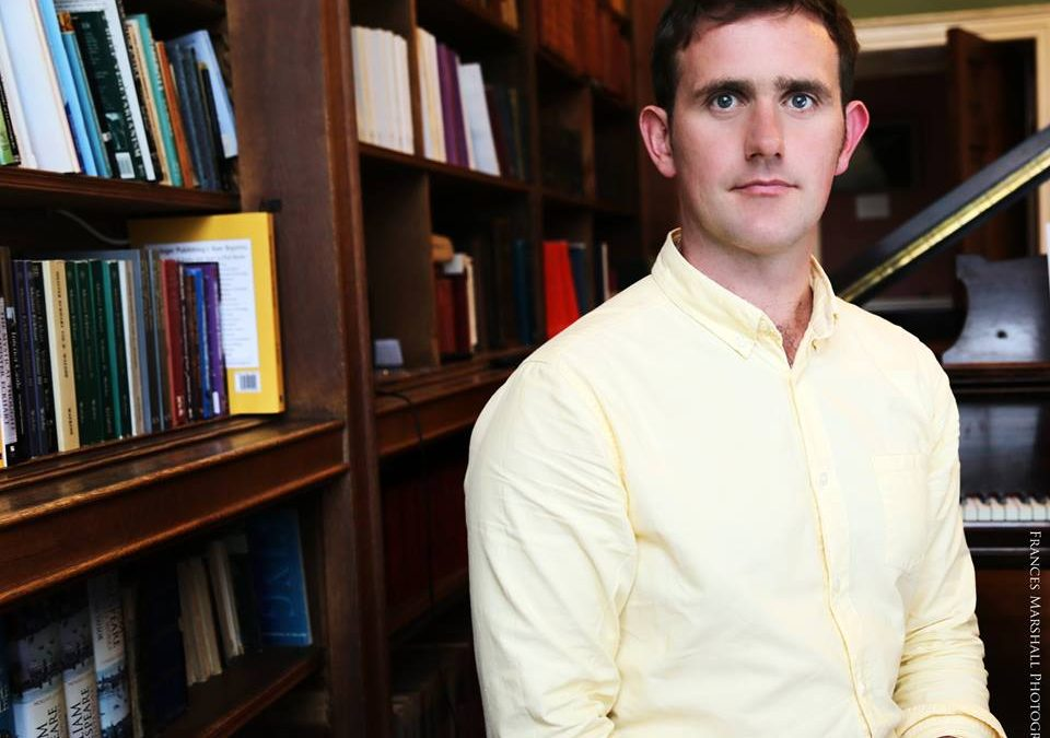 Martin Dyar appointed WIP's inaugural Writer in Residence